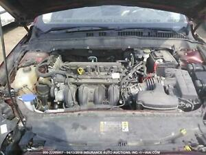 13 16 Ford Fusion Engine Motor 2 5 4 Cyl 2 5l Vin 7 Mile Miles Mileage Duratec
