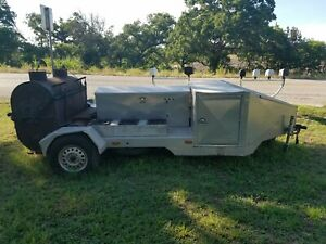 Bbq Pit Trailer Grill And Propane Stoves Trailer Competitive Cooking