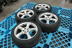 Jdm Subaru Legacy Wheels 5x100 17 55 Offset Bridgestone Tires