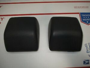 Used Jeep Wrangler Tj Oem Stock Front Bumper Impact Pads 97 06 Pad Pair