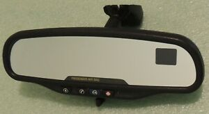 2005 2006 2007 Envoy Trailblazer Rear View Mirror W Onstar Compass 015885