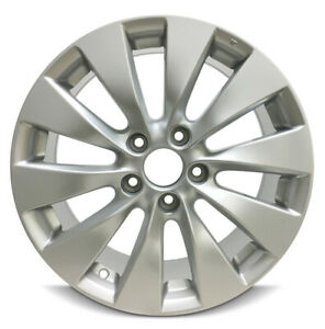 New 17 X 7 5 Silver Replacement Wheel Rim For 2013 2014 2015 Honda Accord