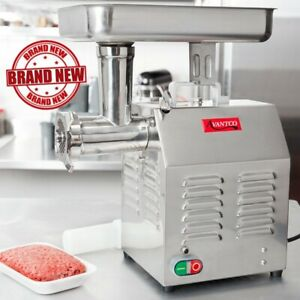 Countertop Electric Commercial Restaurant Meat Grinder choppers 12 110 Volts