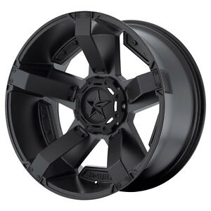 20x12 Black Wheels Xd811 Rockstar 2 Lifted Dodge Ram 1500 1994 2018 5x5 5 44mm