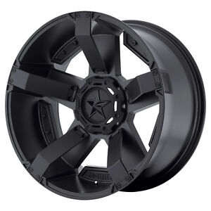 20x9 Black Rims Wheels Xd811 Rockstar 2 Dodge Ram 1500 1994 2018 5x5 5 18mm