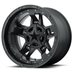 20x10 Black Wheels Xd827 Rockstar 3 1994 2019 Lifted Dodge Ram 2500 3500 8x6 5