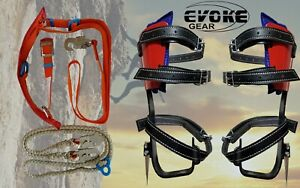 Tree Climbing Set Pole Spurs Climber Tree And Pole Graff Harness Lanyard
