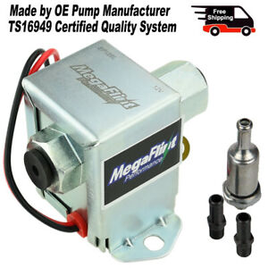 Universal Electric Fuel Pump Kit Low Pressure 12v Portable Inline Ep12s Us Stock