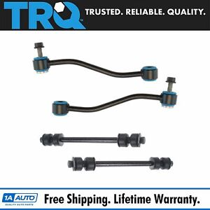 Trq 4 Piece Front Rear Sway Bar End Link Kit For Ford Explorer Sport Trac New