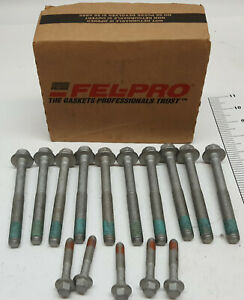 Felpro Es72390 Gm V8 Ls Single Head Bolt Set 2003 2014 Gen Iv 4 8 5 3 6 0 6 2