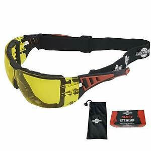 Toolfreak Rip Out Work And Sports Safety Glasses Anti Glare Wraparound Lenses