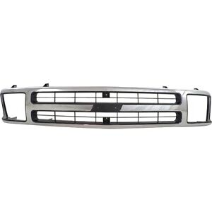 New Grille Grill For Chevy Chevrolet Blazer 1995 1997 Gm1200383 15672329