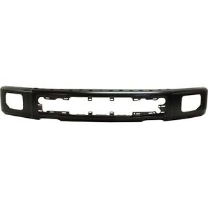Front Bumper Primed Paint To Match With Fog Lamp Holes For 2015 2017 Ford F 150