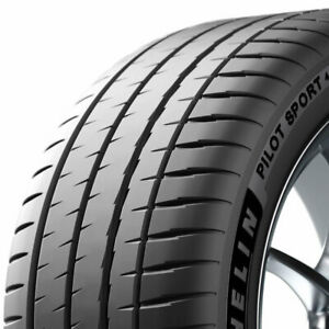 2 New 255 40zr18 Michelin Pilot Sport 4 S 99y Performance Tires Mic98512
