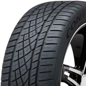 1 new 245 40zr17 Continental Extremecontact Dws06 91w Tires 15499700000