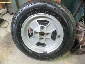 Oe Fiat Spare Tire 79 85 2000 Spider 13 Cromodora Alloy Wheel Nos Michelin Tire