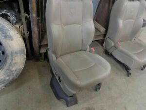09 10 11 Dodge Ram 1500 Pickup R Front Seat W O Air Bag Bucket Leather Electric