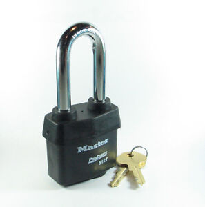 Lock By Master 6127wskalj Keyed Alike Weather Sealed Heavy Duty Free Shipping