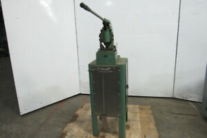 Di acro No 1 Hand Operated Punch Press W stand
