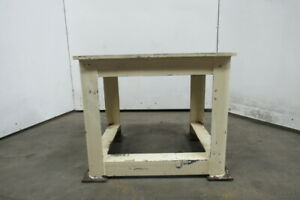 36x30x30 Steel Machine Base Welding Work Bench Table 3 4 Machined Surface Top