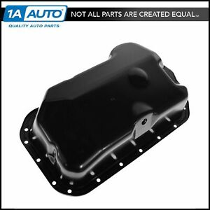 Engine 4 Cylinder Oil Pan For Volkswagen Vw Cabrio Corrado Golf Jetta Passat