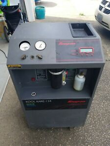 Snap On Kool Kare 134 A C Recovery Recharge Recycle Machine Eeac304