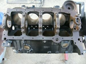 Chevrolet 5 7 Small Block Chevy 350 Block Crankshaft 4 bolt Mains 1987 1995