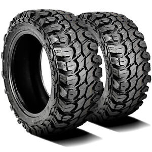 2 New Gladiator X Comp M T Lt 35x12 50r17 Load E 10 Ply Mt Mud Tires