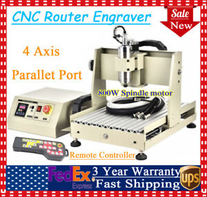 Cnc 3040 Router 4axis Engraving Machine 0 8kw Wood Carving Machine Controller