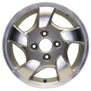 New 15 X 6 Cnc Silver Replacement Wheel Rim For 1998 1999 2000 Honda Accord