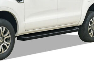 Iboard Black Running Boards Style Fit 19 20 Ford Ranger Supercrew Cab