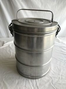 Vintage Super Chef Stainless Insulated 1 1 2 Gallon Food Container