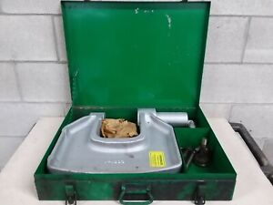 Greenlee 1732 C frame Hydraulic Knockout Punch Driver