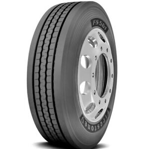 2 New Firestone Fs561 245 70r19 5 Load G 14 Ply Commercial Tires