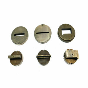 set Of 3 Punch Press Die Tooling Attachments 4 25 d Stainless Steel