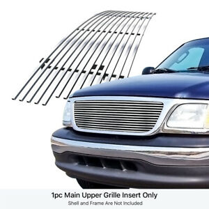 Fits 1999 2003 Ford F 150 expedition Stainless Steel Billet Grille Grill Insert
