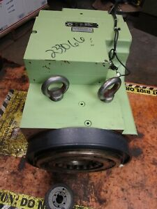 Sauter 0 5 460 220 089308 Sl mv315 m Tool Turret Electrical Drive Disc Type New