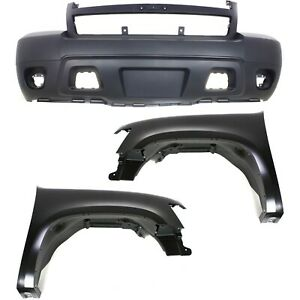 Capa Auto Body Repair For 2007 2014 Chevrolet Tahoe Front Left Right Set Of 3