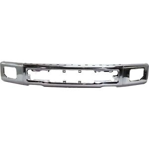 New Bumper Face Bar Front Chrome F150 Truck Ford F 150 Fo1002422 Fl3z17757a