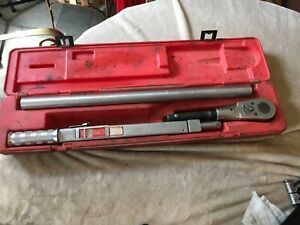 Snap On Tqr600b Torque Wrench 3 4 Drive