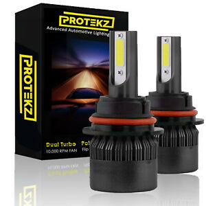 Protekz 6000k Led Fog Light Kit For 2010 2013 Ford Transit Connect H11 Fog Bulb