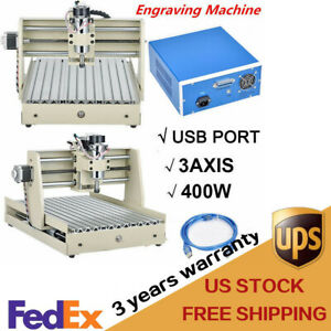 3 Axis 3040 Usb Cnc Router Engraver 3d Cuttrer Wood Carving Drilling Machine Ca