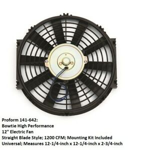 Proform 141 642 Bowtie High Performance 12 Electric Engine Cooling Fan