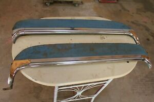 1955 1956 Packard Patrician Caribbean Fender Skirts With All Moldings Trim