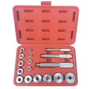 Bearing Race Seal Driver Master Tool Set Aluminum Wheel Axle Auto Set 17pcs