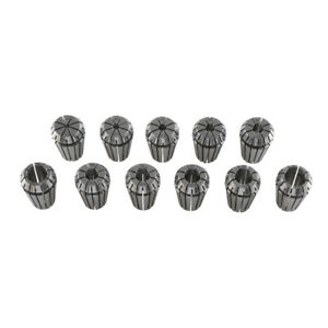 Er20 Collet 11pcs Set 3 13mm High Precision Metric Industrial Grade Accurate Usa