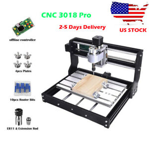 Diy Cnc Router 3018 pro Wood Engraver Pcb Milling Machine With Offline Control