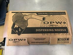 Opw 7hb 0400n Heavy Duty Automatic Shut Off Nozzle In Black With Spout Ring New