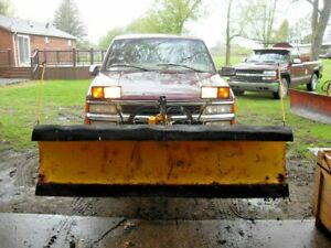 Meyer 7 1 2 Snow Plow complete W rebuild E 47 Wiring Lights
