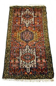 Lovely Semi Antique Rug Karaja Style A Magnificent Old Example